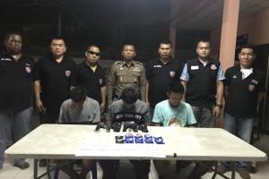 สภ.บ่อวิน จับกุบยาเสพติด 2 พันกว่าเม็ด พร้อมอาวุธปืน