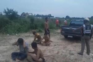ตำรวจภูธรบ่อวิน ศรีราชา กลุ่มวัยรุ่นเมาสุราเข้ามาป่วนไล่จะทำร้ายชาวบ้านและขว้างปารถที่วิ่งผ่านไปมา
